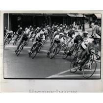 1989 Press Photo Illinois Criterium Bicycle Racing - RRW05605