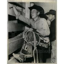 1965 Press Photo Bill Kornell Veteran Bull Rider - RRX25499