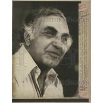 1977 Press Photo Texas Ranger Manager Frank Lucchesi - RSC27303
