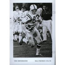1997 Press Photo Theodore Paul Hendricks American High - RRW80151