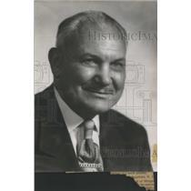 1957 Press Photo Raymond Nig Borleske Whitman Athletics Hall Fame - RSC25857