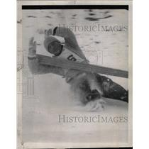 1959 Press Photo Ted Lahner Trouble losing Balance Down - RRW75099