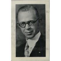 1936 Press Photo General V.J. Dunton Chamber Campaign - RRW81333