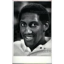1983 Press Photo Ray Tolbert Forward Detroit Pistons - RRX38733
