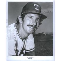 Press Photo Billy Martin Texas Ranger Manager - RSC29353