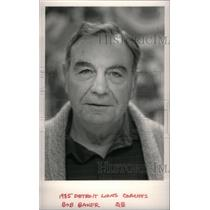 1985 Press Photo Bob Baker Coach Lions - RRX38567