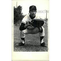 1966 Press Photo Bob Fitzner Denver University Hitter - RRW80459