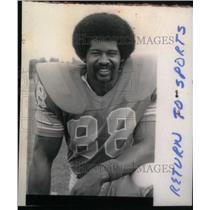 Press Photo Detroit Lions Charlie Sanders Tight End - RRX38945
