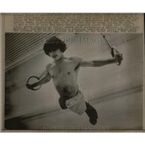 1973 Press Photo Mike Jones Lost Legs Sprague High - RRX14349