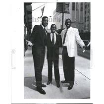 1989 Press Photo Chicago Bulls Players King Armstrong - RRV78221