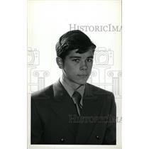 1973 Press Photo Rich Preston Denver University Hockey - RRW73903