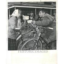 1962 Press Photo Bicycle Safety Club children bikes - RRV62895