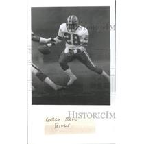 1985 Press Photo GREG BALL FOOTBALL PLAYER BILLS - RSC26455
