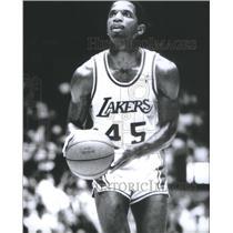 Press Photo Ac Green Free Lakers Basketball Team - RSC25803