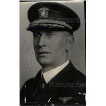 1937 Press Photo Capt Ernest J King Navy - RRW78303