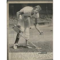 1975 Press Photo Paul Lindblad, Oakland Athletics Pitcher - RSC29073
