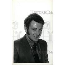 1973 Press Photo Tom Peluso Denver University Ice Hocke - RRW73897
