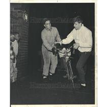1966 Press Photo Marathon Bicycle Ride Williams College - RRV63005