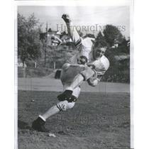 1958 Press Photo Buzz Crites Franklin High School - RSC27933