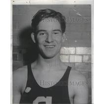 1932 Press Photo Arthur Widman American Athleter Gymnastic Champion Chicago