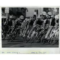 1992 Press Photo Illinois Pro Criterium Bicycle Racing - RRW05607