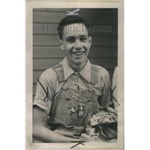 1938 Press Photo  Robert Berger 1938 National Soap Box