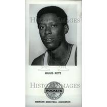 1971 Press Photo Keye, Julius Basketball Player - RRU23067