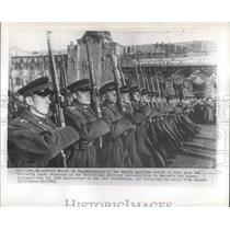 1949 Press Photo Soviet Army Red Square Moscow - RRX99569