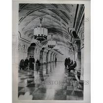 1952 Press Photo Russia Botanical Gardens Subway - RRX71327