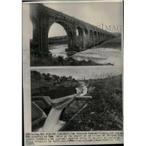 1941 Press Photo The Apulian Aqueduct, Rome, Italy. - RRX70621