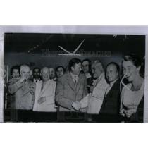1955 Press Photo Russian Premier Buganin Cecil Parrott - RRX55787