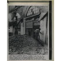 1920 Press Photo Debris Istabul, Turkey Earthquake