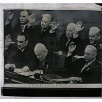 1958 Press Photo Soviet Premier Nikita Khrushchev - RRW87149