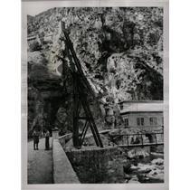 1946 Press Photo Italian Power House Roya Valley - RRX75097