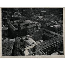 1948 Press Photo Royal Palace of Milan,Italy restored. - RRX78859
