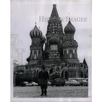 1958 Press Photo St. Basil's Cathedral Soviet Russia - RRX71323