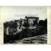 1934 Press Photo Italy Villa Castel Gandolfo Dominate M