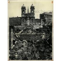 1960 Press Photo Rome Italy Spanish Steps Landmark - RRX70957