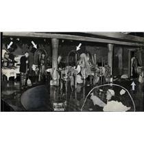 1929 Press Photo RESTAURANTS STUDY CLUB FIRE - RRW88917