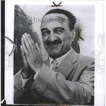 1956 Press Photo Anastas Mikoyan Soviet Politician - RRW32859