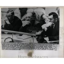 1958 Press Photo Russian delegates Ally Andrei Arkady - RRW66165