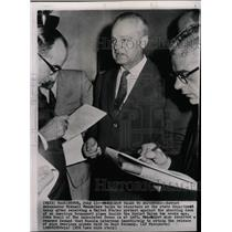 1958 Press Photo Mikhail Menshikov Soviet Ambassador - RRW17967