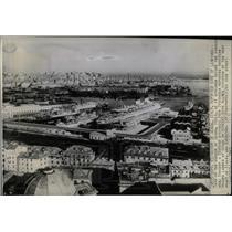 1943 Press Photo Harbor of Genoa Italy - RRX79881