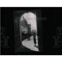 1944 Press Photo Castel Gandolfo Great Gate - RRX64835