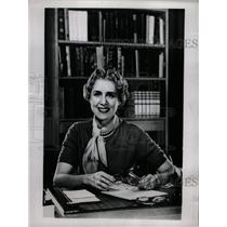 1953 Press Photo Clare Boothe Luce Ambassador to Italy - RRW18073