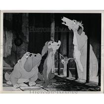 Press Photo Walt Disneys production Lady Tramp cartoon - RRX61313