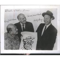 1961 Press Photo Donald Duck Little Grew Quack Gray Man named Charence Nash