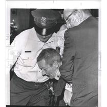 1964 Press Photo American Nazi Party Member Arrested - RRW39373