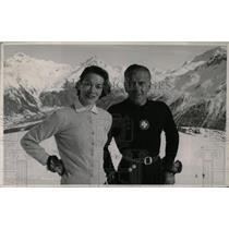 1957 Press Photo Explorer Putman Humphrey On Mountain - RRW78223