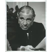 1965 Press Photo Actor Gary Merrill John Marshall NBC Profiles of Courage TV
